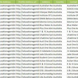Education Agent Database