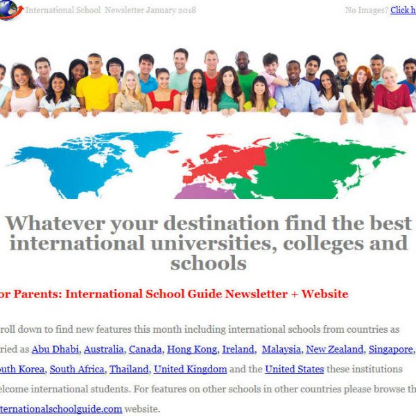 International School Guide Newsletter