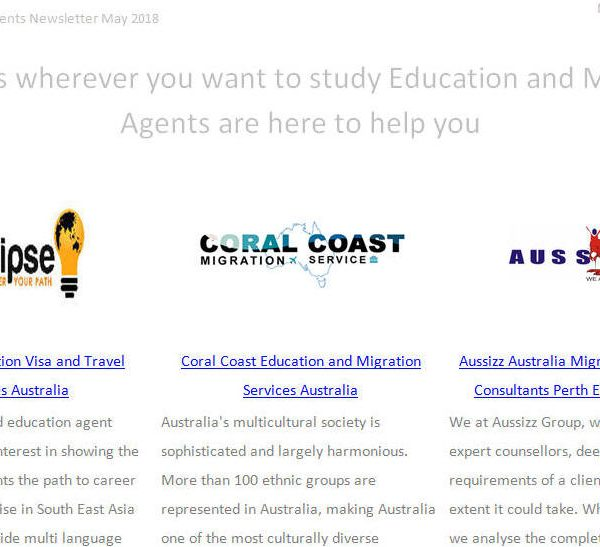 Education Agent Website Profile